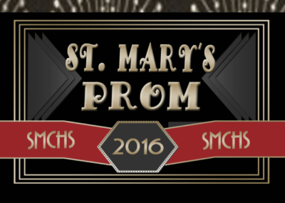 April 2, 2016St. Mary's HS After Prom