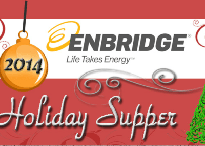 December 12, 2014Enbridge Holiday Supper