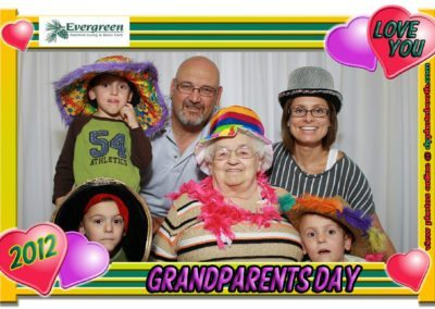 September 9, 2012Grandparents Day at Evergreen Assisted Living