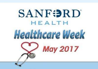 May 11, 2017Sanford Healthcare Week