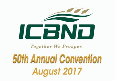 August 14, 2017ICBND 50th Convention & Expo