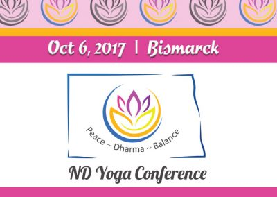 October 6, 2017<br>ND Yoga Conference