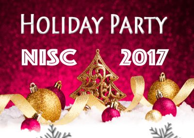 December 14, 2017<br>NISC Holiday Party