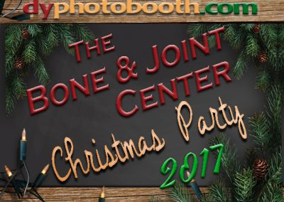 December 1, 2017<br>The Bone & Joint Center<br>Christmas Party
