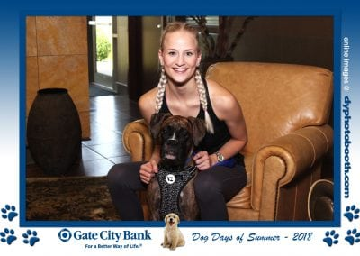August 7, 2018Gate City Bank's Dog Daysof Summer Pet Contest